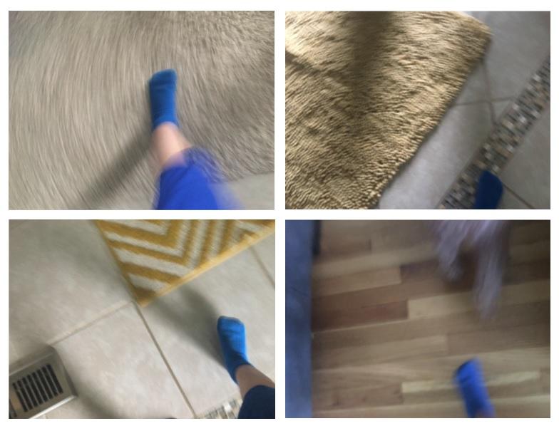 Buck Feet on The Move